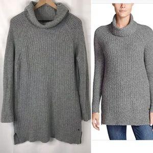 Eddie Bauer Gray Aurora Turtleneck Sweater XL